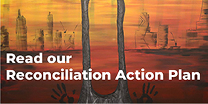 Image of Reconciliation Action Plan and link to RAP page